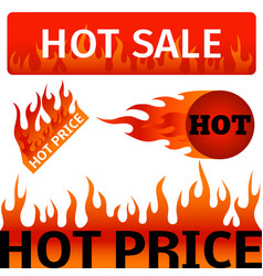 badges shop product hot sale best price vector image