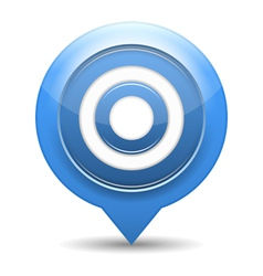 Blue Target vector