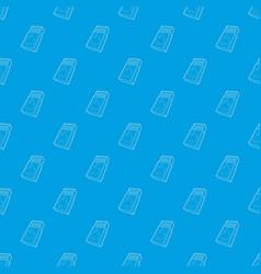 Box matches pattern seamless blue vector