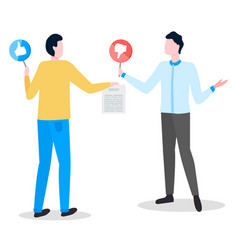 Contract signature business partners conclusion vector
