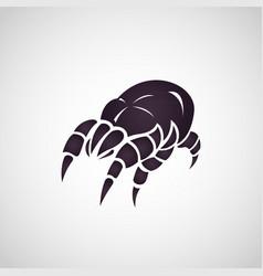 dust mites logo vector image