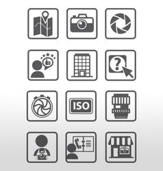 Icon Photography vector