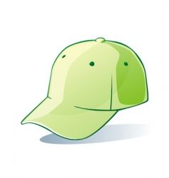 isolated hat vector image