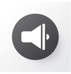 Loudspeaker icon symbol premium quality isolated vector