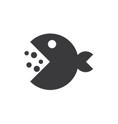 Pacman icon vector