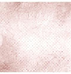 Vintage Polka Dots Background vector image