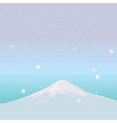 Fujiyama landmark of japan vector
