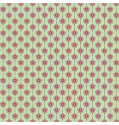 Abstract seamless floral pattern vector image