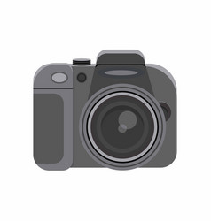 photo camera isolated on white vector image