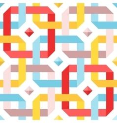 Chic seamless pattern vector image vector image