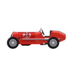 car and rally icon vector image