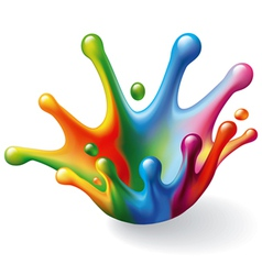 Color Splash vector image