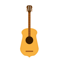 Guitar flat vector