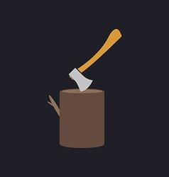 lumberjack computer symbol vector image