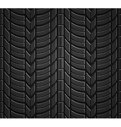 Wheel tire seamless pattern vector image