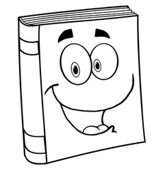 Fun learning book vector image vector image