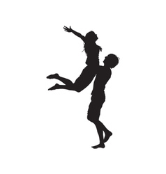One Lovers Couple vector image
