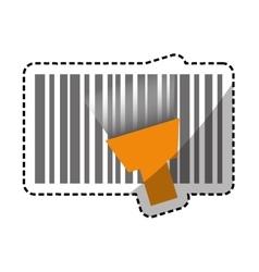 Bar code symbol vector image
