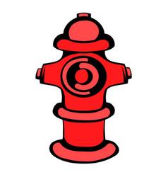 fire hydrant icon icon cartoon vector image