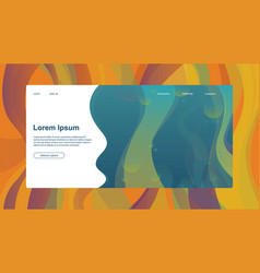 Abstract header website or brochure with lorem vector