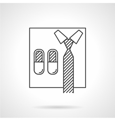 Abstract icon for online business vector image vector image
