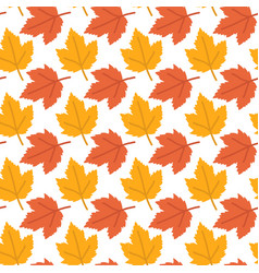 autumn background maple leaves pattern imag vector image