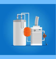 Concept plumbing fixture vector
