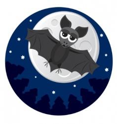 cute bat vector image