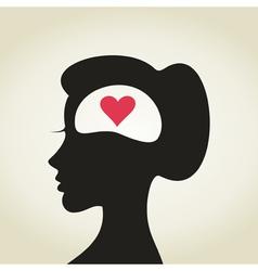 Heart in a head2 vector