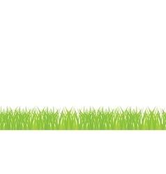Seamless of green grass vector