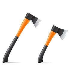 tool axe 03 vector image vector image