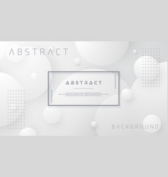 abstract white and gray background vector image