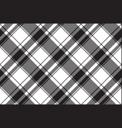 Fabric texture black white color seamless pattern vector