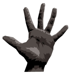Hand Five vector image