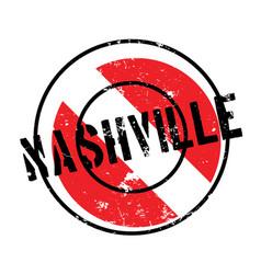 Nashville rubber stamp vector