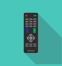 Remote control in flat style vector
