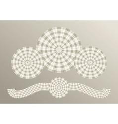 Scottish plaid concept vector