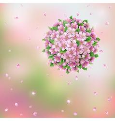 spring ball vector image vector image