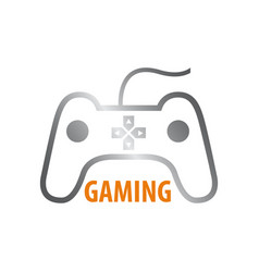 Stick gaming logo concept design symbol graphic vector