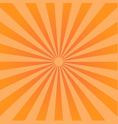 Sunburst Pattern Radial background vector image