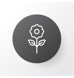 floral icon symbol premium quality isolated bloom vector image