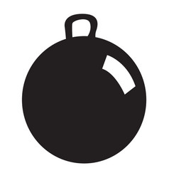 isolated ball toy vector image vector image