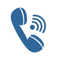 phone icon image vector image