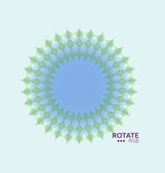 abstract mandala symbol vector image