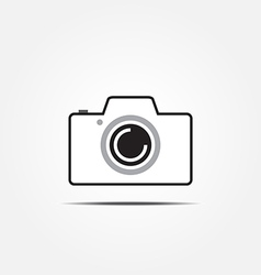 camera icon2 vector image vector image