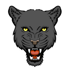 Panther head vector