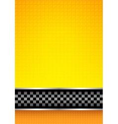 racing blank background vector image