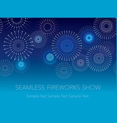 fireworks 3 vector image