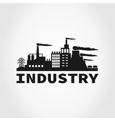 Industry3 vector image