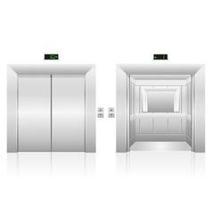 passenger elevator 03 vector image